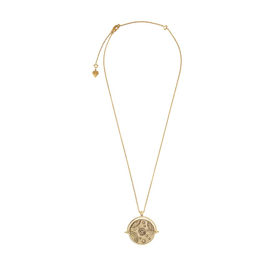 Orbit Gold Necklace