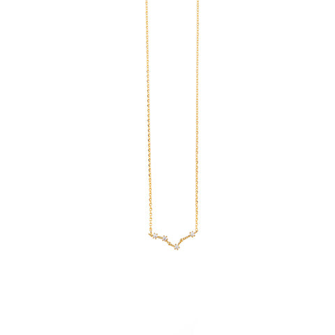 Pisces Cosmic Gold Necklace