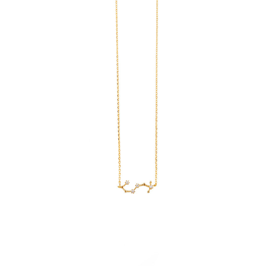 Scorpio Cosmic Gold Necklace