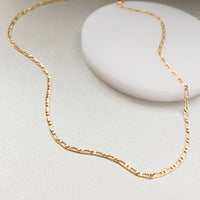Figaro Chain Gold Necklace - Wanderlust + Co