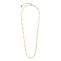 Harper Chain Link Gold Necklace - Wanderlust + Co