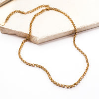 Zoe Gold Necklace - Wanderlust + Co