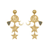 Aleya Gold Earrings