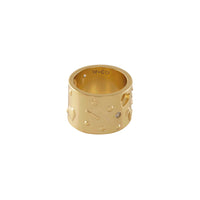 Aleya Gold Ring - Wanderlust + Co