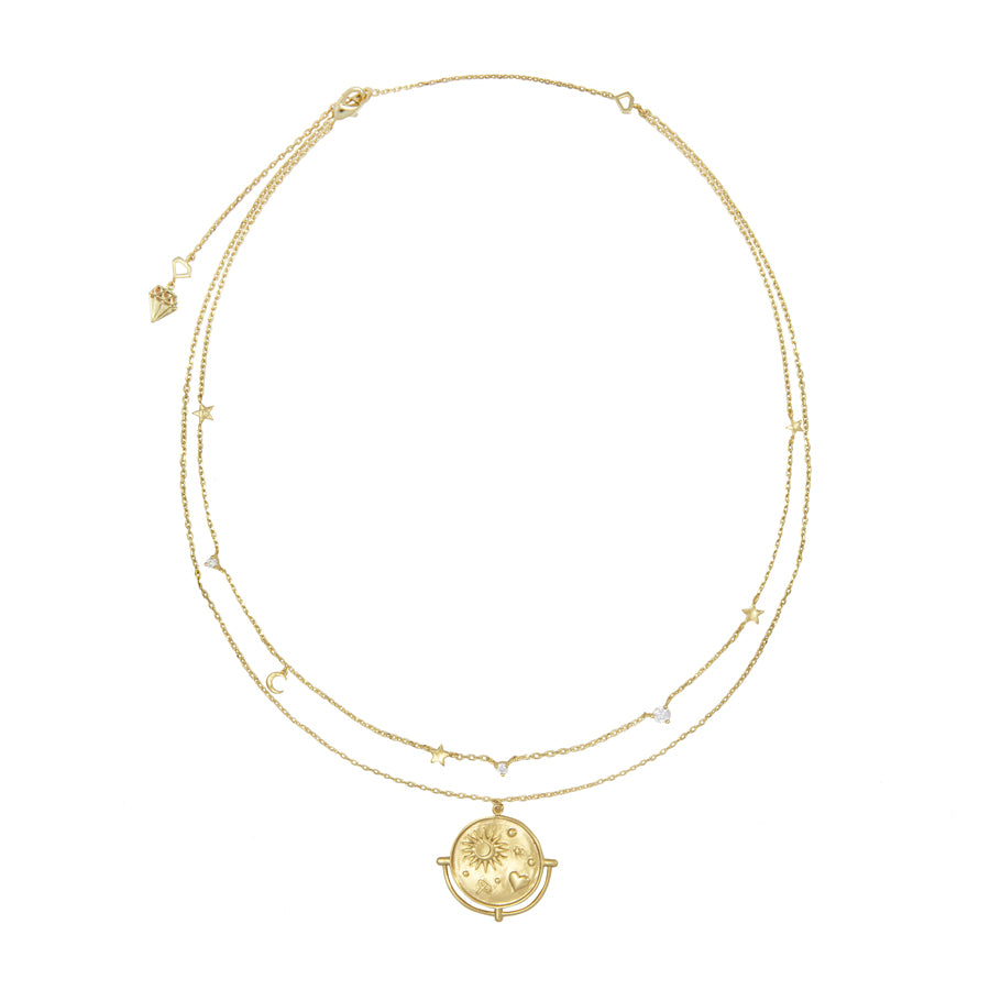 Astra Gold Necklace