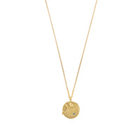 Petite Bee Gold Necklace - Wanderlust + Co