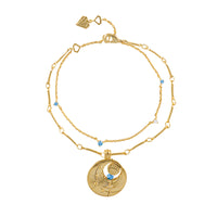 March Birthstone Gold Bracelet