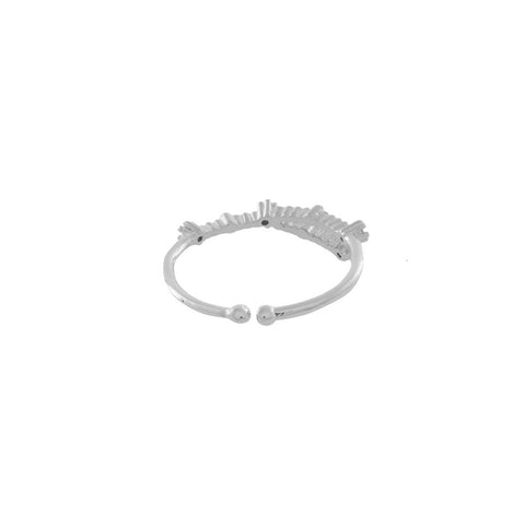 Cancer Zodiac Silver Ring