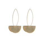 Dali Drop Gold Earrings
