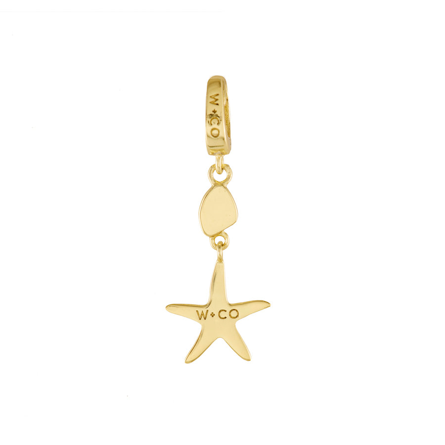 Starfish Gold Charm