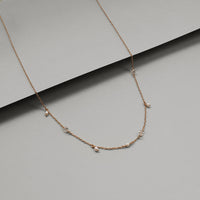 Dancing in the Moonlight Gold Sterling Silver Necklace - Wanderlust + Co