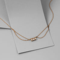 Starry Skies Gold Sterling Silver Anklet