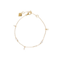 Dancing in the Moonlight Gold Sterling Silver Bracelet - Wanderlust + Co