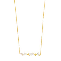 Kaia Stardust Gold Necklace - Wanderlust + Co