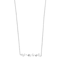 Kaia Stardust Silver Necklace