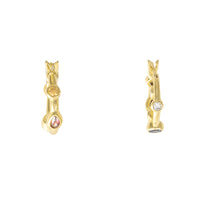 Skylar Gold Huggies  Earrings