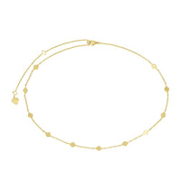 Zyia Gold Choker  Necklace - Wanderlust + Co