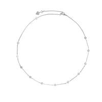 Zyia Silver Choker Necklace - Wanderlust + Co