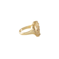 Harlow Locket Gold Ring