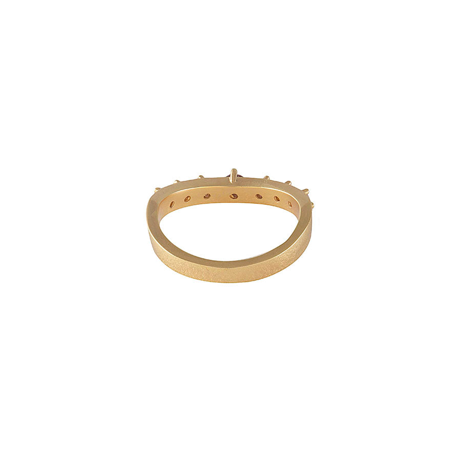 Harlow Gold Rings Set