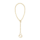 Infusion Gold Toggle Necklace