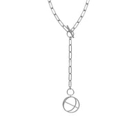 Infusion Silver Toggle Necklace - Wanderlust + Co