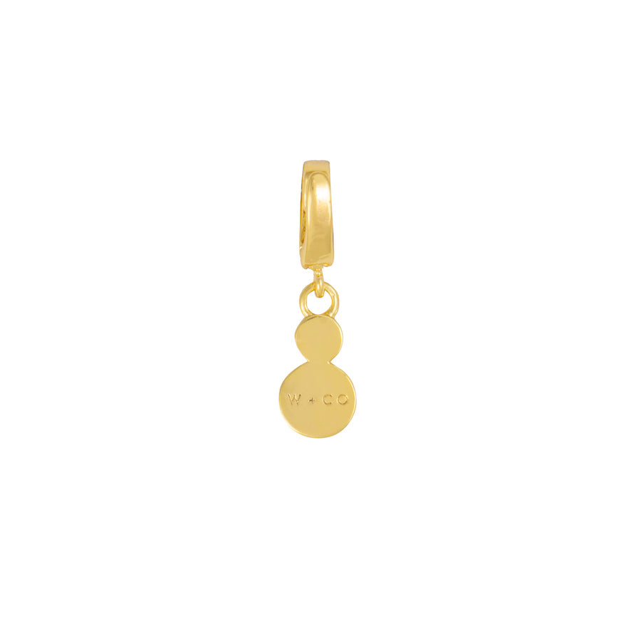 Intuition Gold Charm
