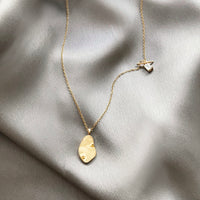 Flow Gold Sterling Silver Necklace