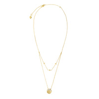 Be the Light Gold Necklace - Wanderlust + Co