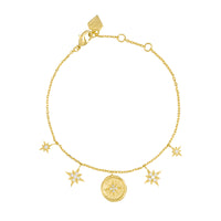 Makes Me Wonder Gold Bracelet - Wanderlust + Co