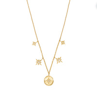 Makes Me Wonder Gold Necklace - Wanderlust + Co