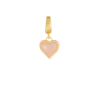 Love Gold Charm - Wanderlust + Co