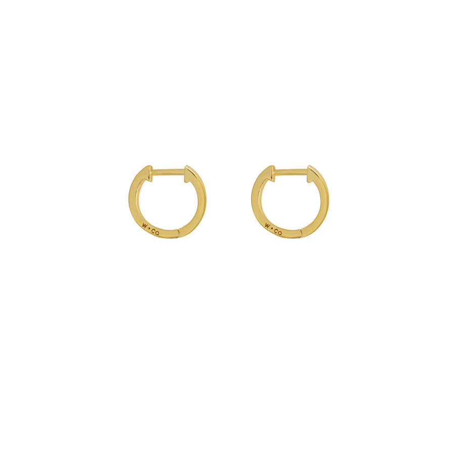 Huggies Gold Earrings