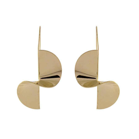 Miro Gold Earrings