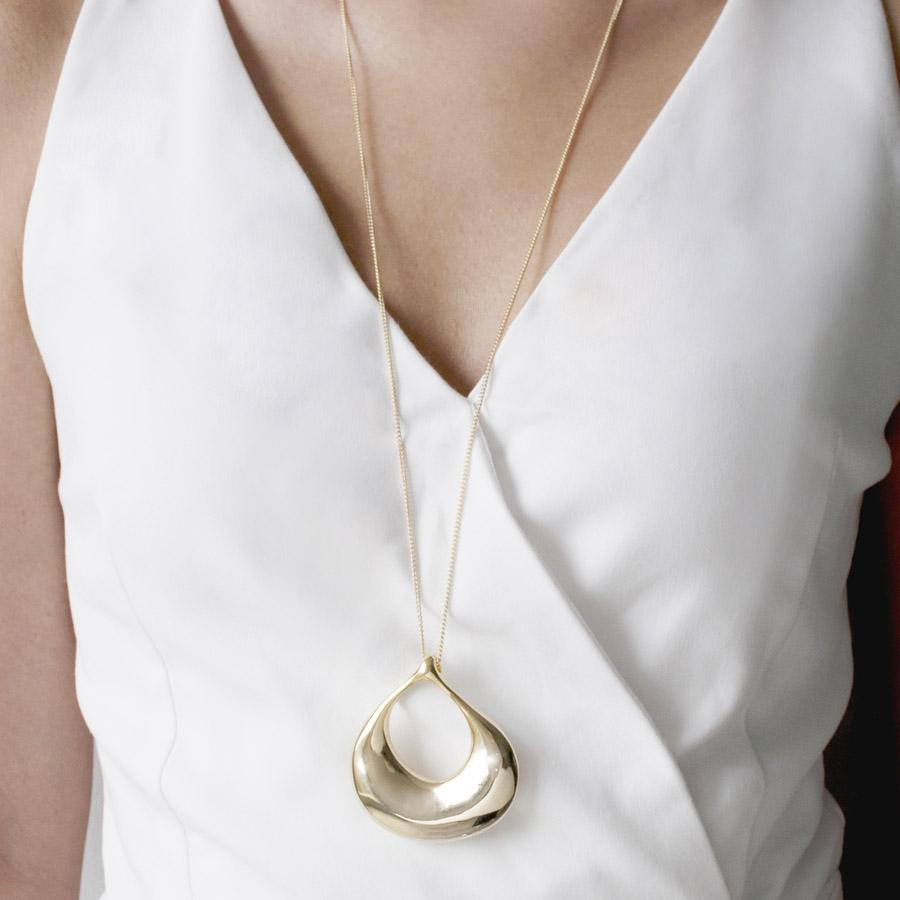 Eau Gold Necklace