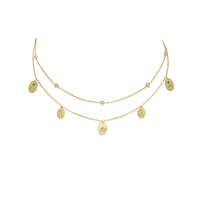 Reverie Gold Charms Necklace - Wanderlust + Co