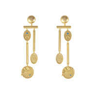 Reverie Gold Earrings - Wanderlust + Co