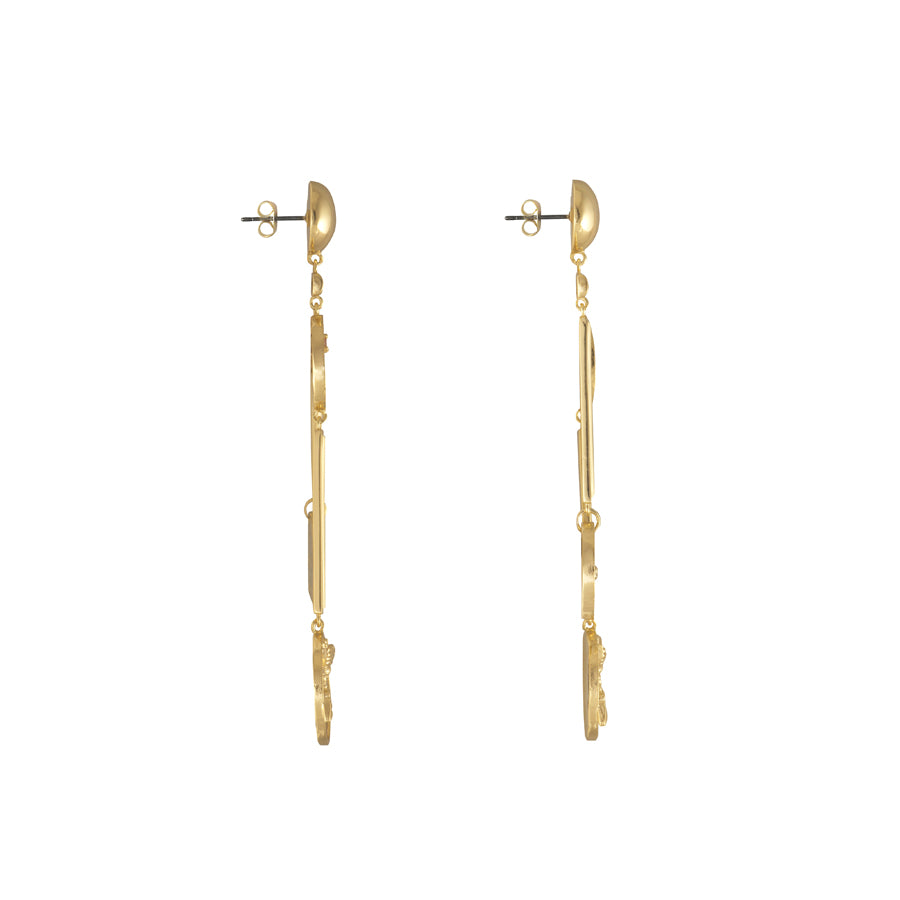 Reverie Gold Earrings