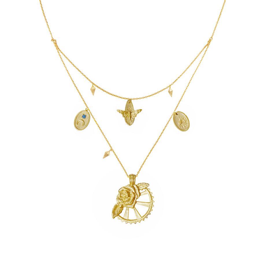 Reverie Gold Necklace