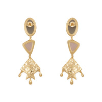 Rhea Gold Earrings - Wanderlust + Co