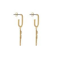 Rosa Gold Earrings