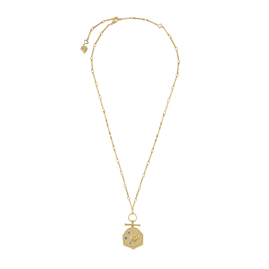 Rosa Gold Necklace