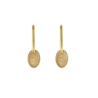 Solis Gold Earrings - Wanderlust + Co