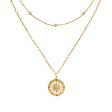 Solis Gold Necklace