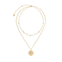 Solis Gold Necklace - Wanderlust + Co