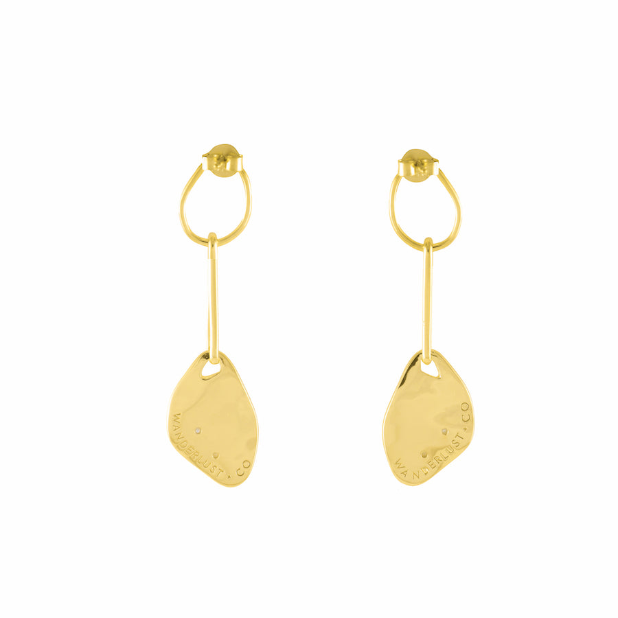 Someday Gold Earrings