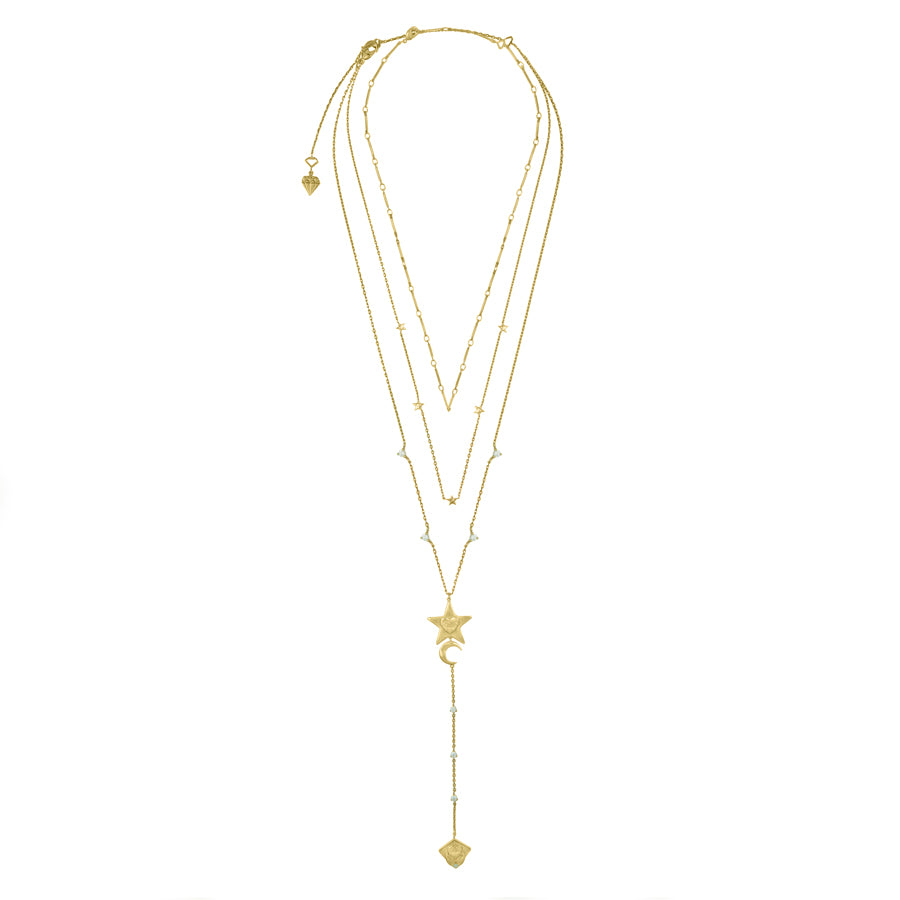Stella Gold Layered Necklace