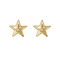 Stella Gold Stud Earrings - Wanderlust + Co