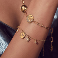 Be the Light Gold Bracelet