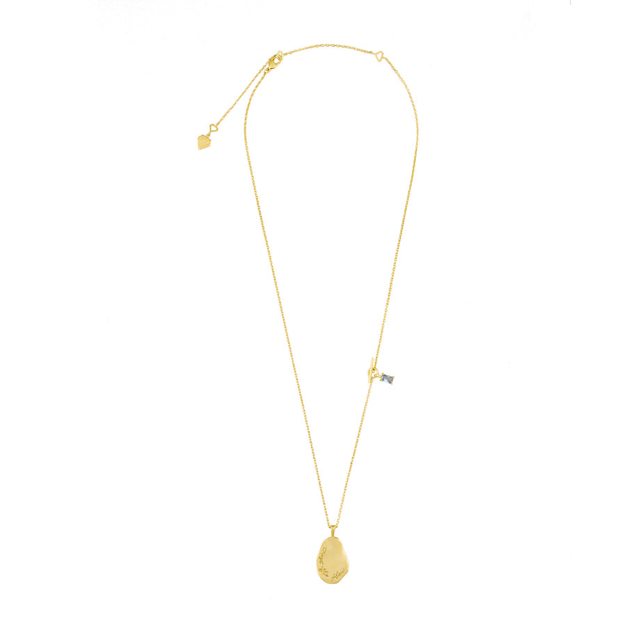 Trust the Flow Gold Necklace